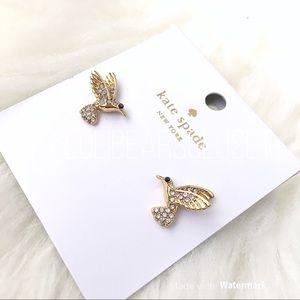♠️ Kate Spade Grandma's Closet Hummingbird Studs